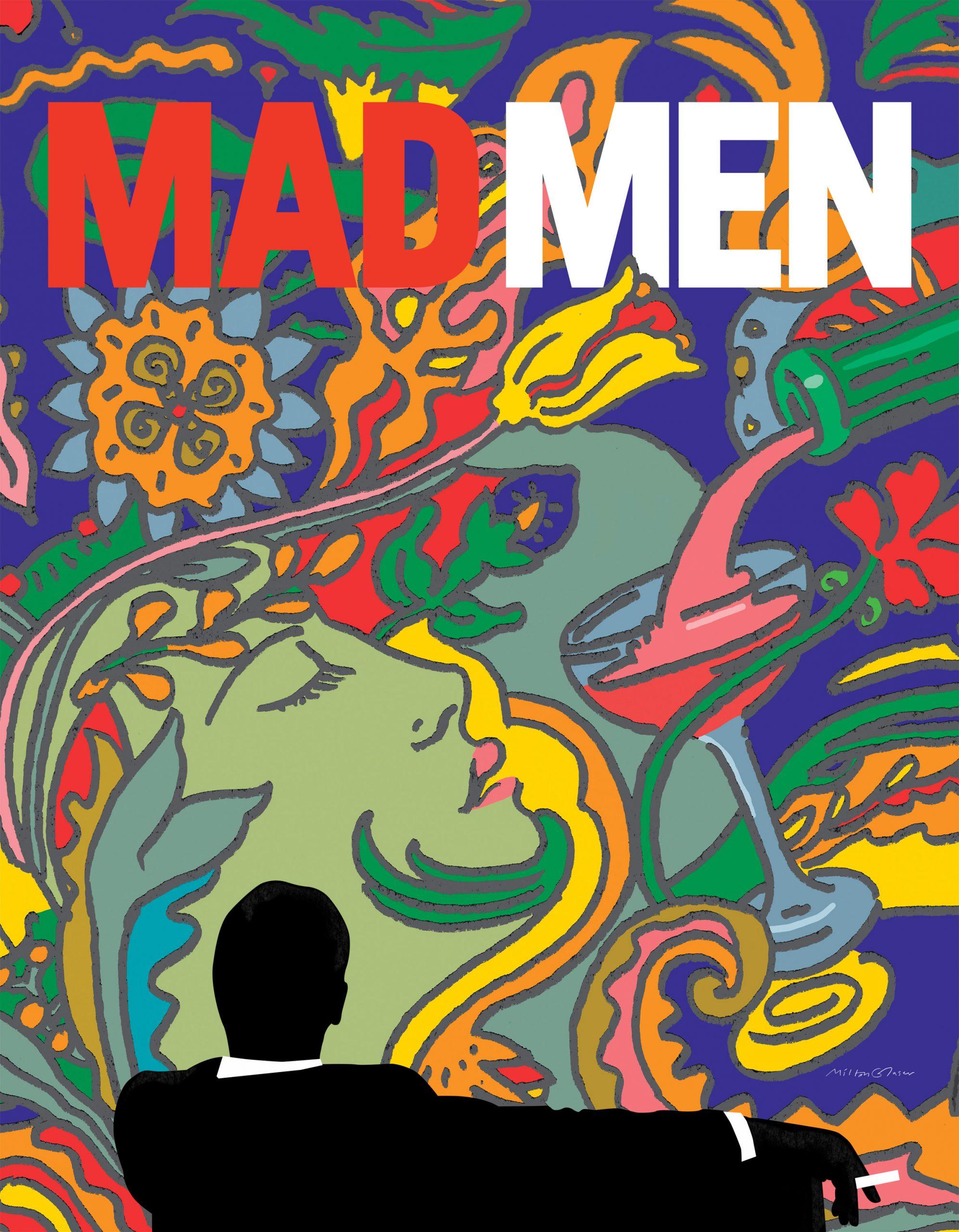milton-glaser-graphic-design-poster-mad-men-per-rubrica-fuori-contest-expo4talent