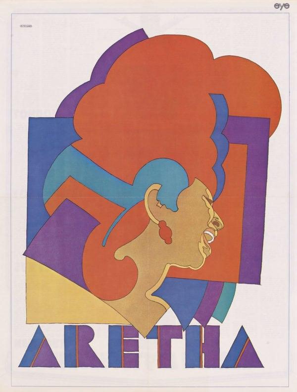 poster-aretha-franklin-milton-glaser-per-rubrica-fuoricontest-expo4talent