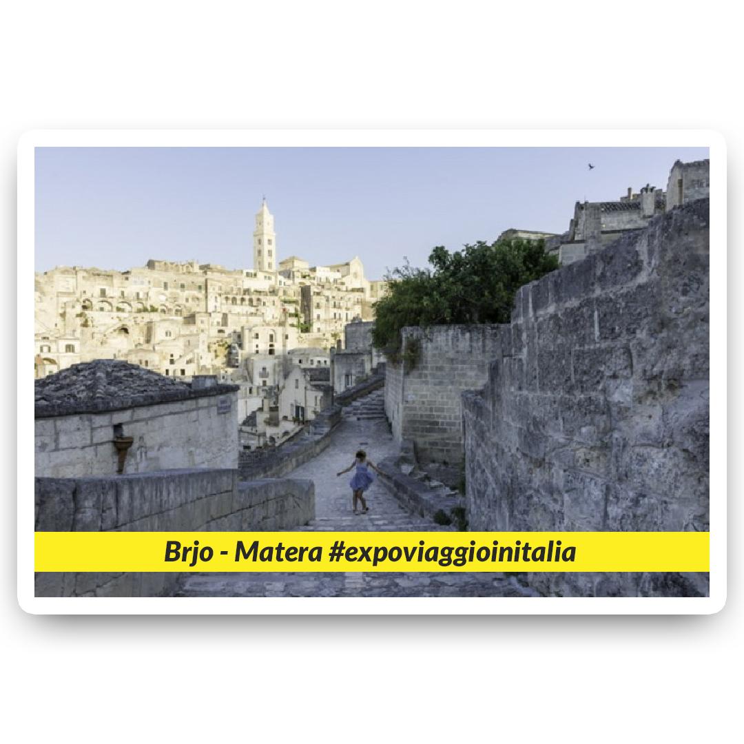 Matera nello scatto dell'exposer di expo4talent Brjo, per #expoviaggioinitalia